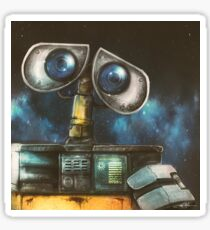 WALL-E Robot Painting Sticker