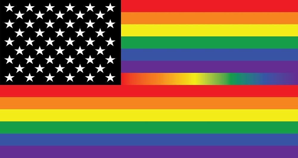 Rainbow USA by evadesigns