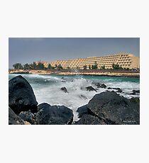 Costa Teguise - Lanzarote Photographic Print