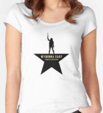 Wynonna Earp // Hamilton Mash-up Women's Fitted Scoop T-Shirt