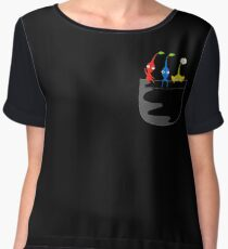 Pikmin Pocket Tee Women's Chiffon Top