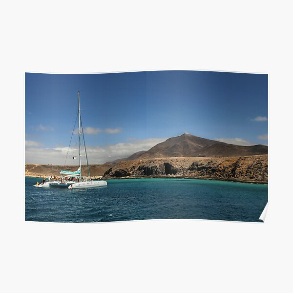 Papagaya Beach Heads - Lanzarote Poster
