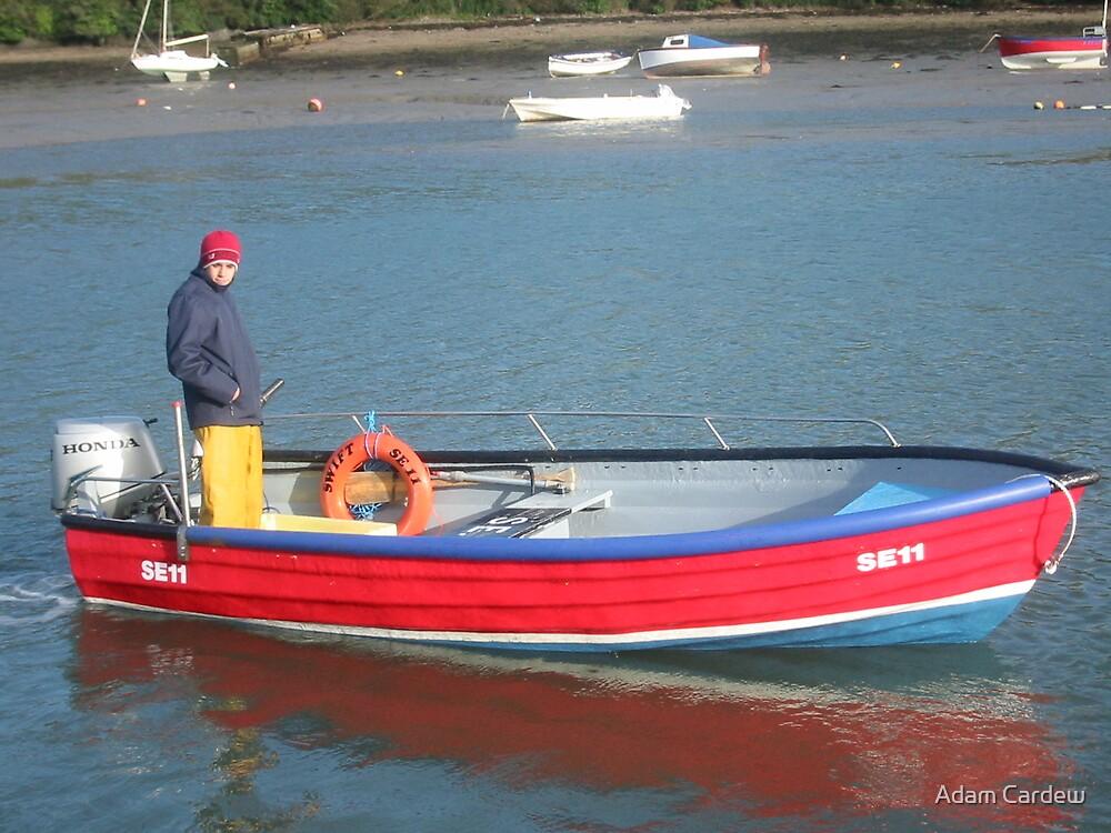 Salcombe scallop dredger by Adam Cardew