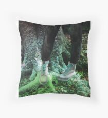 Colourful Boots Throw Pillow