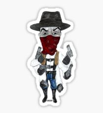 Six-Shooter  Sticker