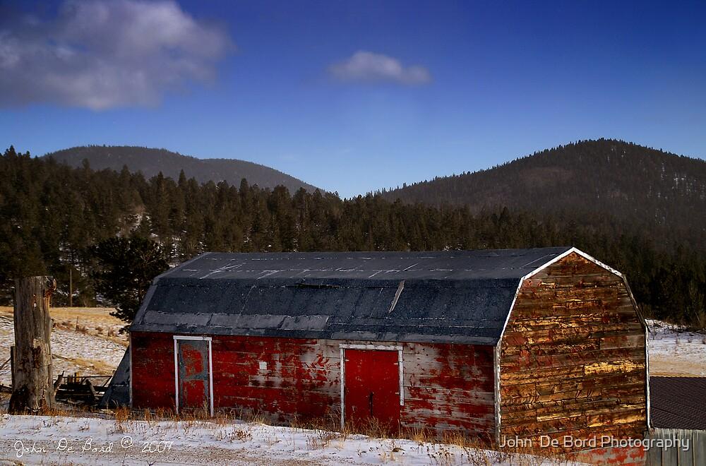 The Old Barn by John  De Bord Photography