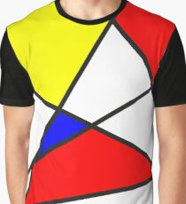 Confused Mondrian Graphic T-Shirt