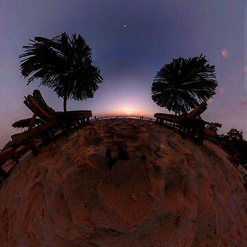 Small Planets - Candalim Beach, Goa, India by TommyOne