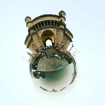 Small Planets - Gateway To India, Mumbai, India by TommyOne