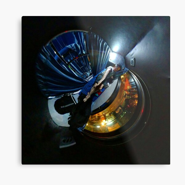 Small Planets, Sleeper Coach, India Metal Print