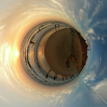 Small Planets, Sunset, Goa, India by TommyOne