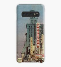 Granville Street, Vancouver, British Columbia, Canada  Case/Skin for Samsung Galaxy