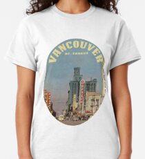 Granville Street, Vancouver, British Columbia, Canada  Classic T-Shirt