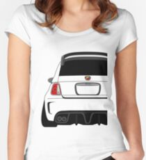 Abarth  Women's Fitted Scoop T-Shirt