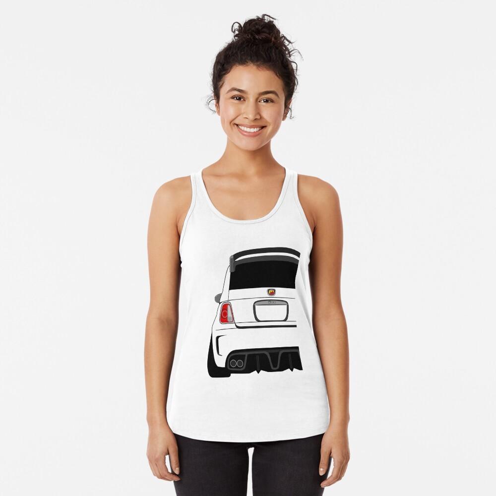 Abarth Camiseta con espalda nadadora