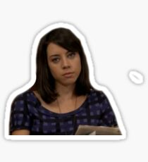 April Parks and Rec  Sticker