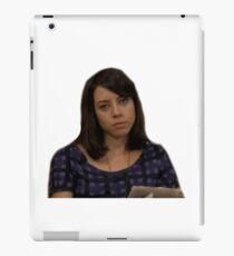 April Parks and Rec  iPad Case/Skin