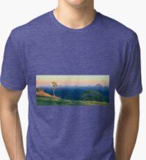 A Glasshouse Sunset Tri-blend T-Shirt