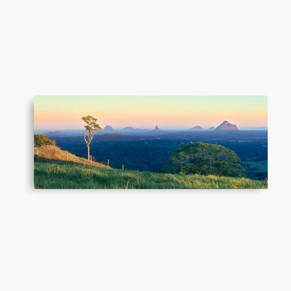 A Glasshouse Sunset Canvas Print