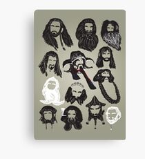 In the Company of Dwarves Canvas Print