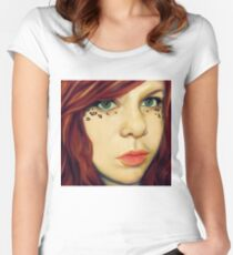 Fire Maiden Women's Fitted Scoop T-Shirt