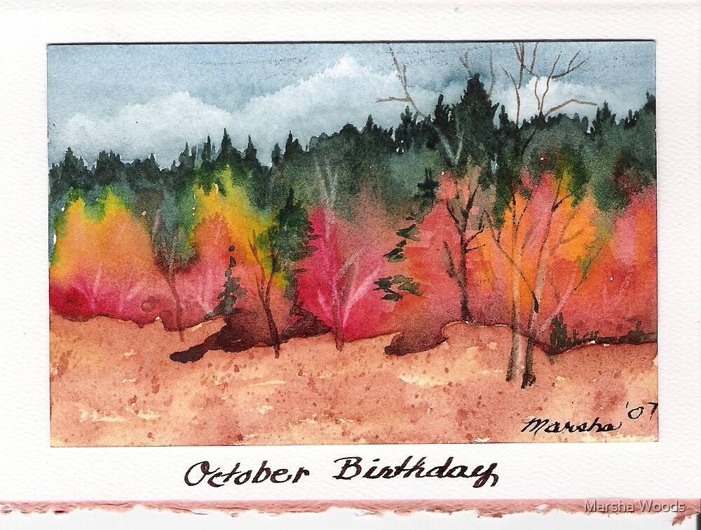 October by Marsha Woods