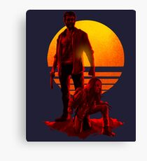 Logan Sunset Canvas Print