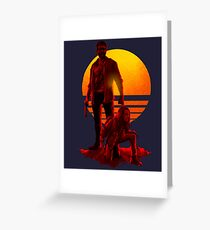 Logan Sunset Greeting Card