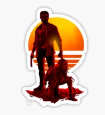 Logan Sunset Sticker