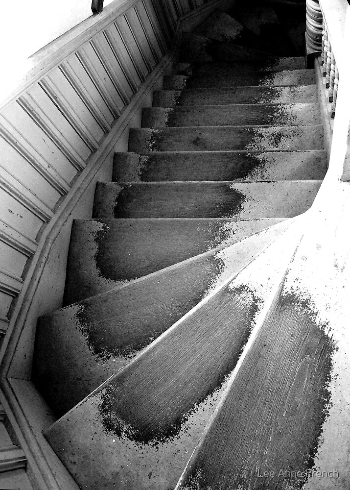 Well-worn Stairs by Lee Anne French