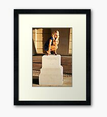 Statuesque Framed Print
