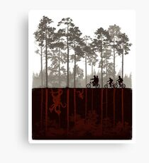 Stranger Things Canvas Print
