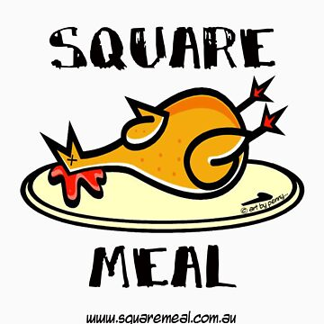 Crazy Chicken Square Meal by Penny  by squaremeal