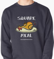 Crazy Chicken Square Meal by Penny - dark shirt  Pullover