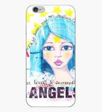 I am loved & surrounded by angels iPhone-Hülle & Cover