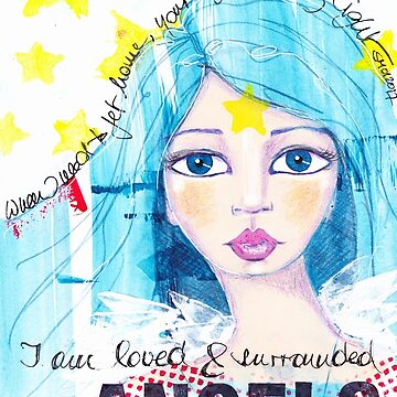 I am loved & surrounded by angels von AngelArt444
