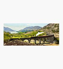 The Jacobite over the Viaduct Photographic Print