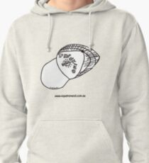Thinking Cap on TShirt by Alex  Pullover Hoodie