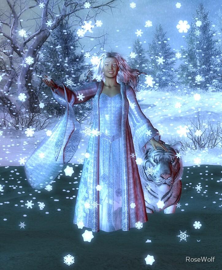 Snow Queen by RoseWolf
