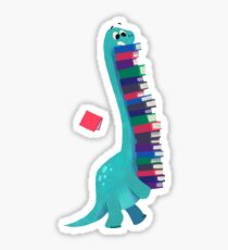BOOK DINOSAURS 01 Sticker