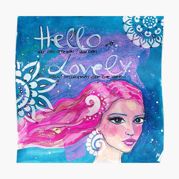 Hello Lovely Poster