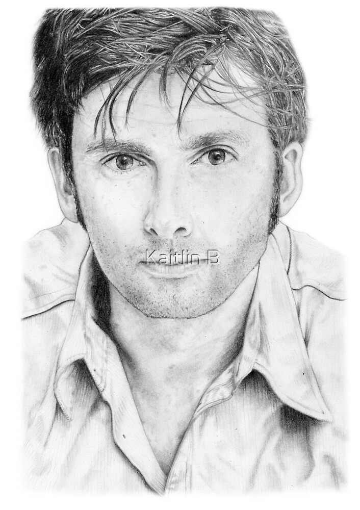 David Tennant sketch by DanceKaitoDance