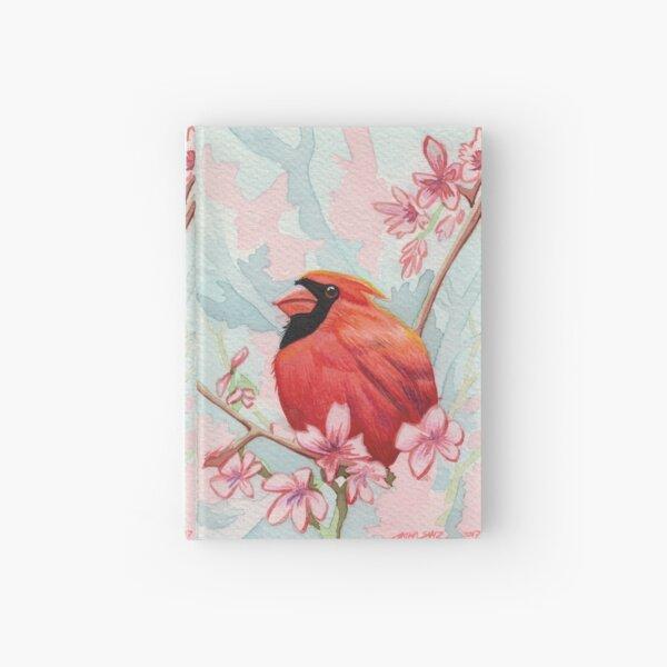 Northern Cardinal Hardcover Journal