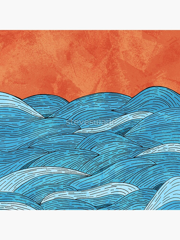 The blue sea by steveswade