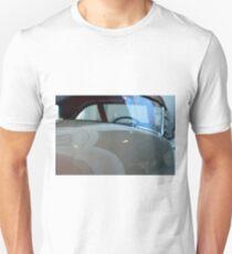 Detail of white shining car hood and windscreen T-Shirt