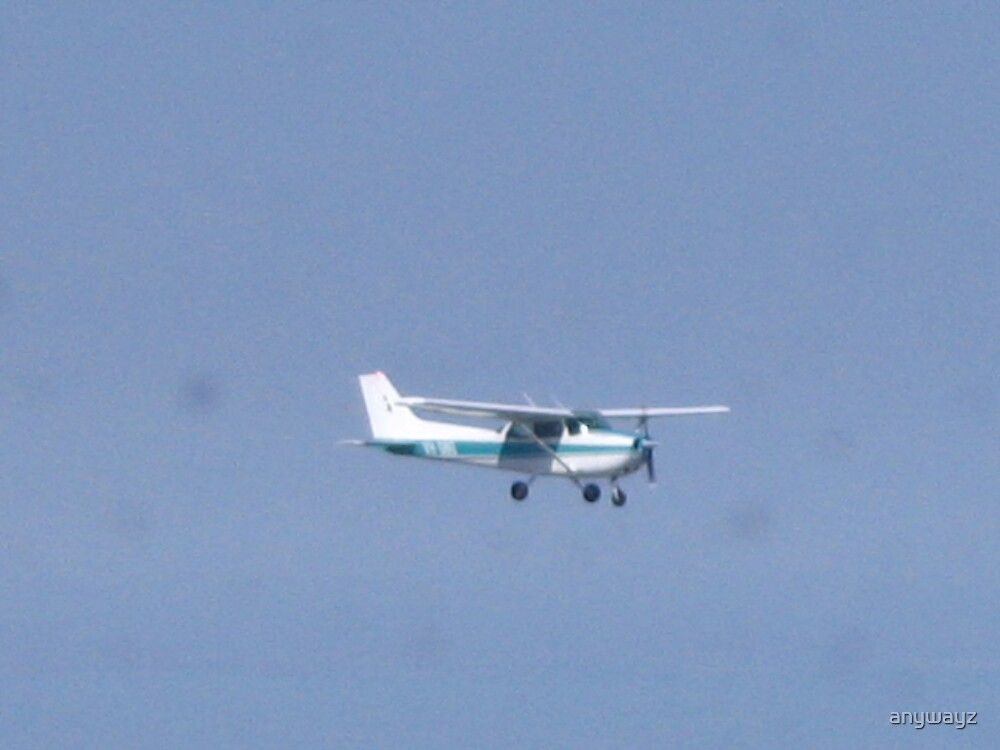 In flight. by anywayz