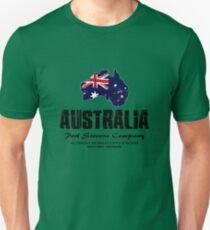 Australia - Flag Map  T-Shirt