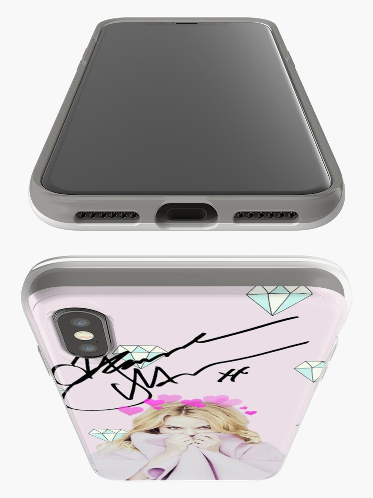 Alternate view of Jennifer Morrison Hearts & Diamonds iPhone Cases & Covers