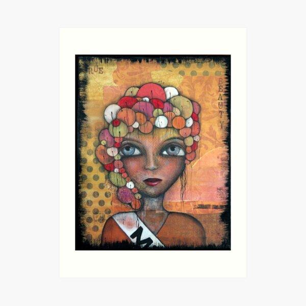 True Beauty Original art by Angieclementine Art Print
