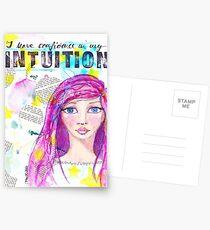 Intuition Postkarten